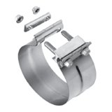 PERFORMANCE EXHAUST CLAMPS